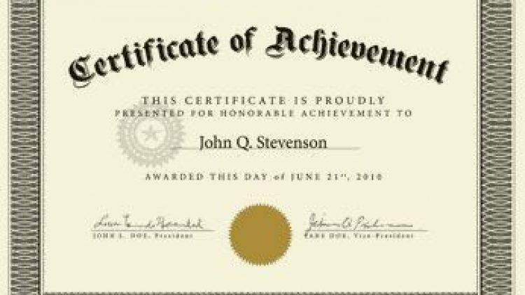 Registration certificates
