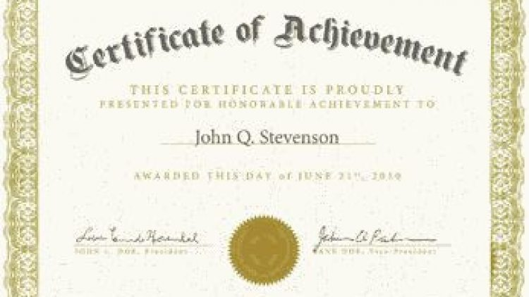 Specialist/GP certificates (CCT/CESR/CEGPR)