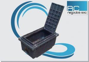 caja para registro de alcantarillado rural